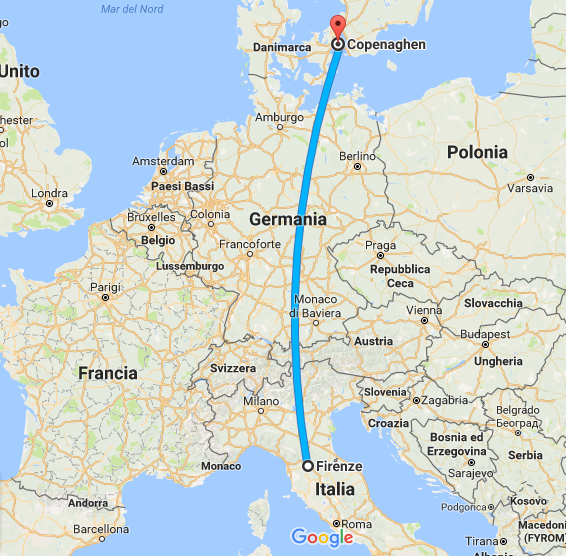Da Firenze a Copenaghen