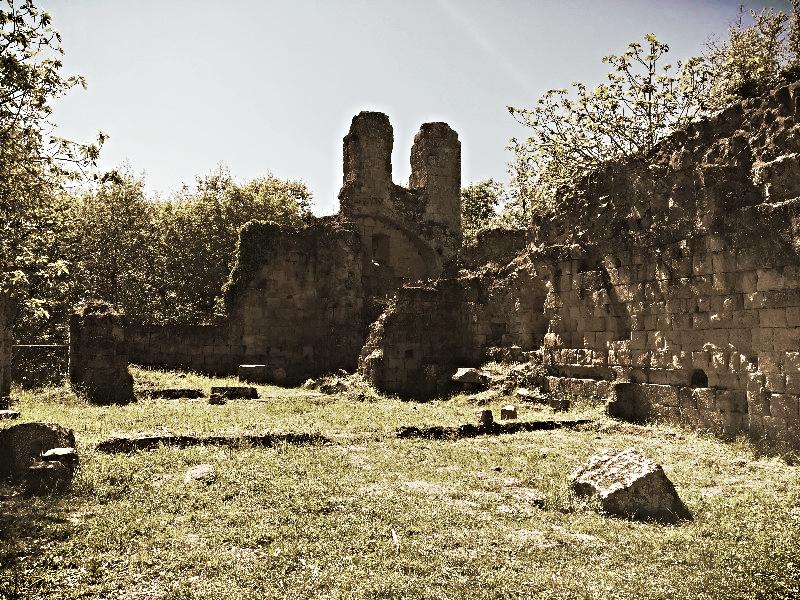 I resti della chiesa di Vitozza [Photo Credits: Marta Mancini]