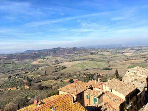 La bella Montepulciano in Toscana