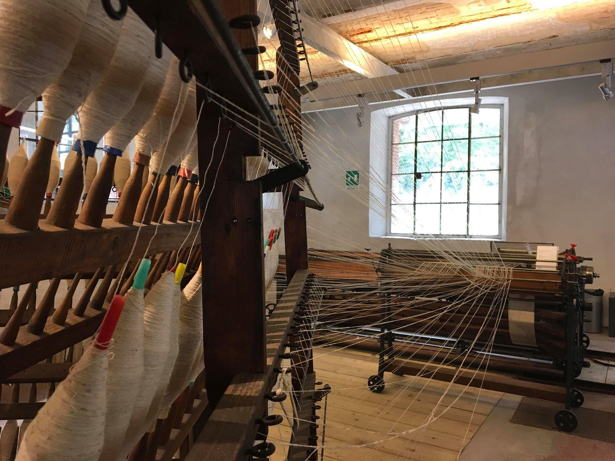Gli antichi macchinari del Museo della Lana di Stia