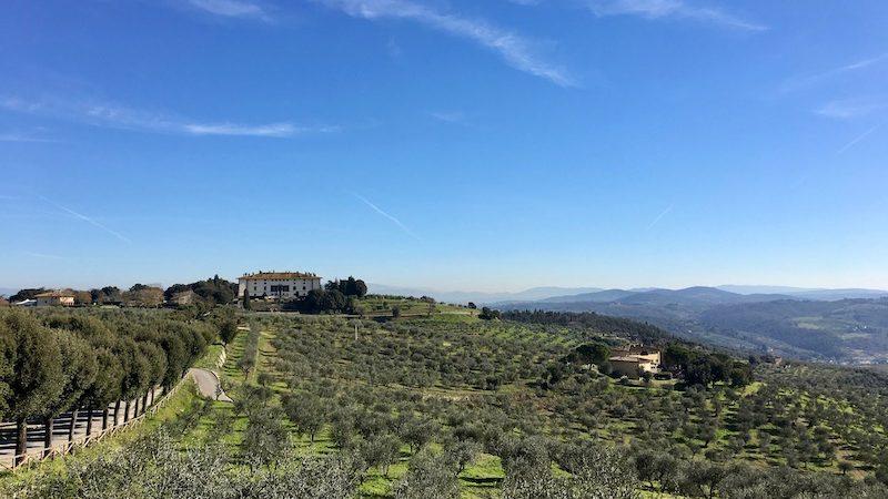 Villa dei 100 camini nel comune di Carmignano
