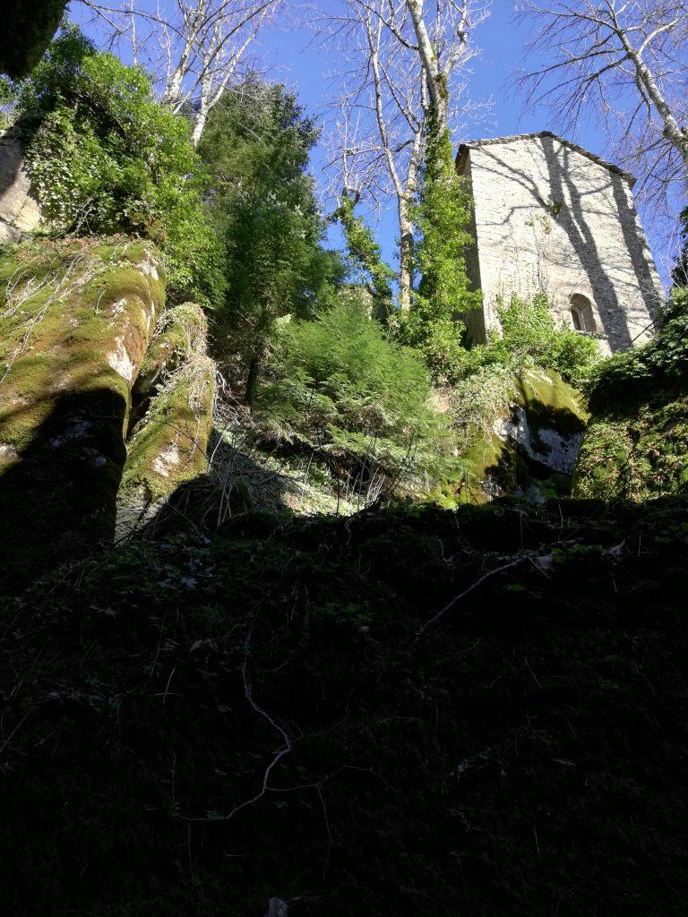 Il santuario de La Verna, in Casentino