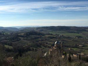 Le colline e le bellezze architettoniche di Montepulciano
