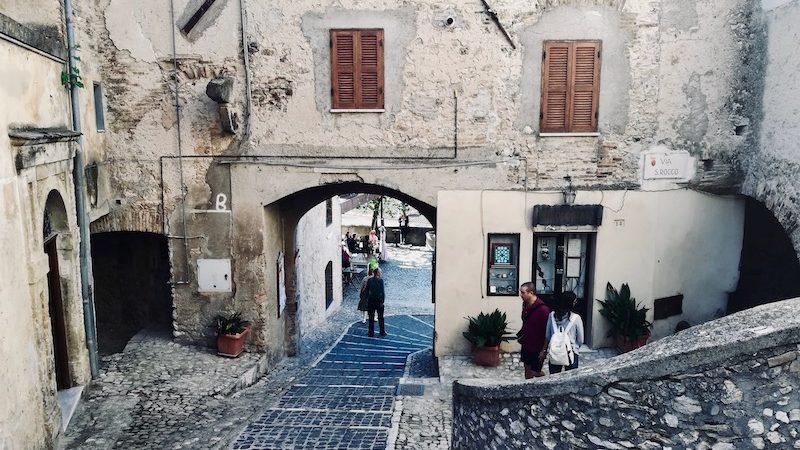 Casperia, la porta d'ingresso al borgo